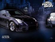 Takashi's Nissan Fairlady Z33 - Tokyo Drift