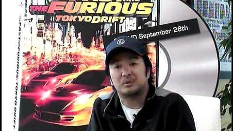 The Fast and the Furious Tokyo Drift - Exclusive Director Justin Lin - Part 3