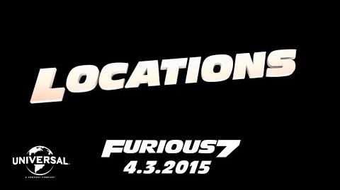 Furious 7 Cast Favorites - Locations (HD)