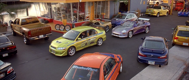 File:Lancer EVO & Eclipse Spyder - Tej's Garage.png