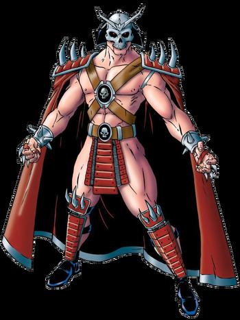 Mortal Kombat - Shao Kahn Concept Art for the Mortal Kombat Trilogy Version