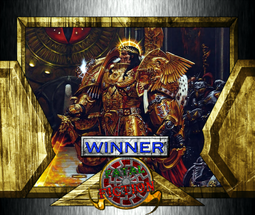 Fatal Fiction Winner - God Emperor of Mankind