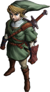 The Legend of Zelda - Link as he appears in Twilight Princess