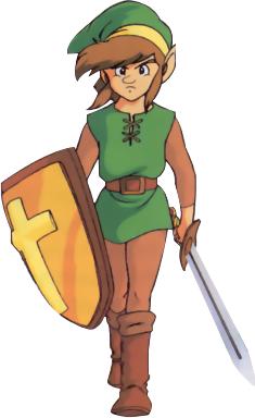 File:The Legend of Zelda - Link as he appears in Zelda II The Adventures of Link.png