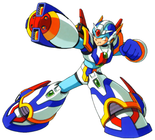 File:Mega Man X - Mega Man X wearing his Forth Armor.png