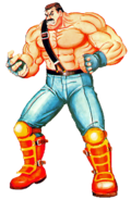 Final Fight - Mike Hagger as he appears in Final Fight 2
