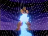 Wizards & Warriors - Kuros using Ironsword to evaporate water to prevent the Dam from overflowing (he had Bigfoot's help doing this)