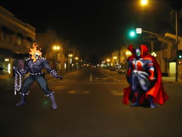 Spawn VS Ghost Rider Intro