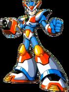 Mega Man X - Mega Man X wearing his Third Armor
