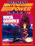 Nintendo Power - Ninja Gaiden II Guide Front Cover