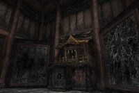 Inside of Narukami Shrine