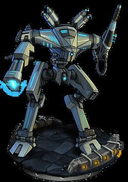 Assault Mech Mk. III Figure