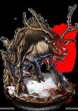 Adult Paindeer Figure