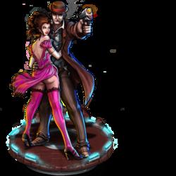 Dick & Jane, Lovers Figure