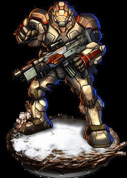 Snow Commando Figure