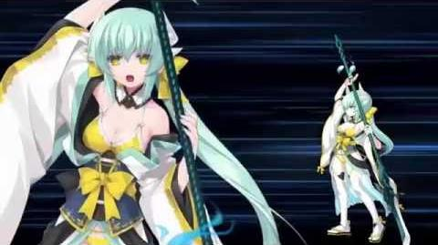 FGO 2016 Summer Event- Kiyohime (Lancer) Noble Phantasm