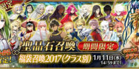 2017 New Year Lucky Bag Summoning Campaign