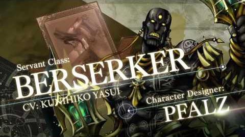 Fate Grand Order Servant Class Trailer BERSERKER