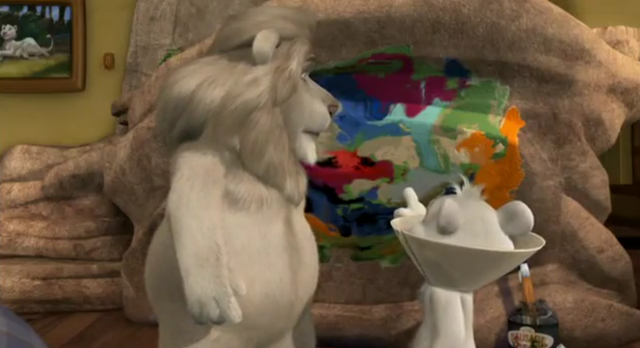 File:Father of the Pride Hunter Points at Kate's Painting.png
