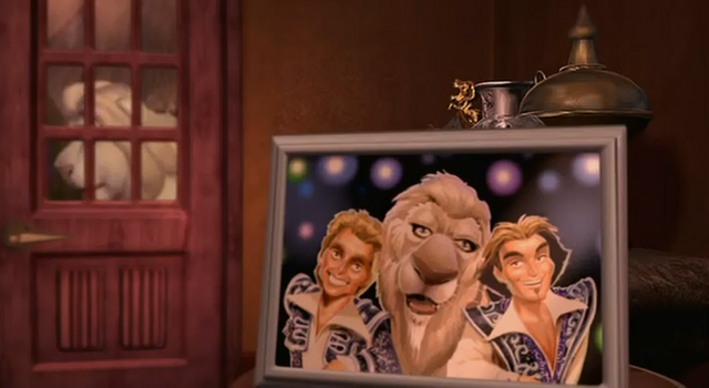 File:Father of the Pride Siegfried, Roy, and Sarmoti Portrait.png