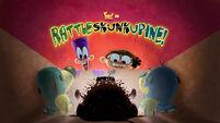 Rattleskunkupine! title card