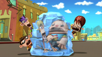 Frozen duke and chuggy