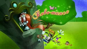Robo-mance title card
