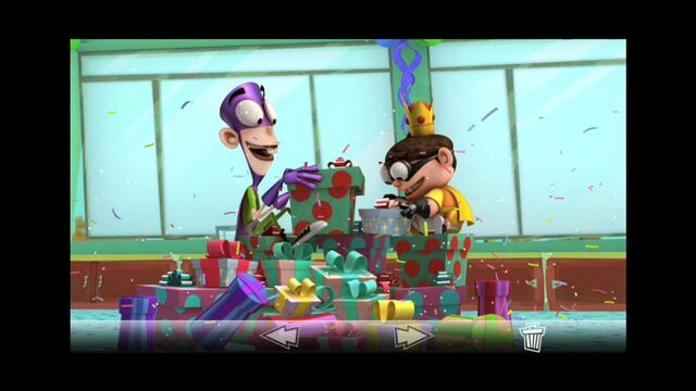 File:Photo of Fanboy and Chum Chum about to open presents s2e5a.jpg