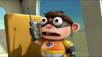 Chum Chum with walkie talkie s2e23a