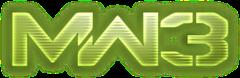 File:Modern Warfare 3 logo.png