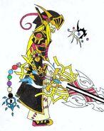 Zero the keyblade wayfarer armored ver 2 by leon259-d5f84rf