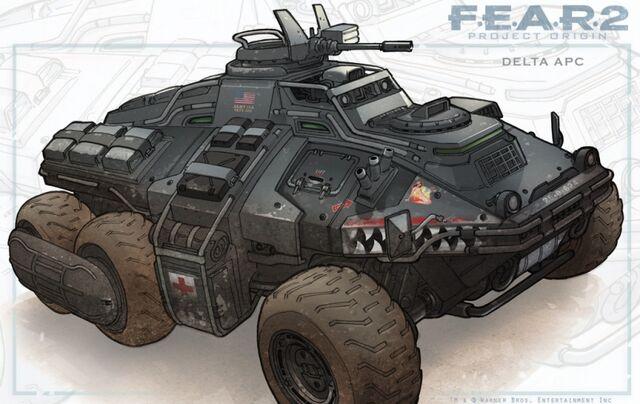 Archivo:Fear 2 project origin conceptart eSoUK.jpg