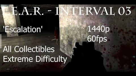 F.E.A.R. - Interval 3 'Escalation' - Extreme, All Collectibles, 1440p