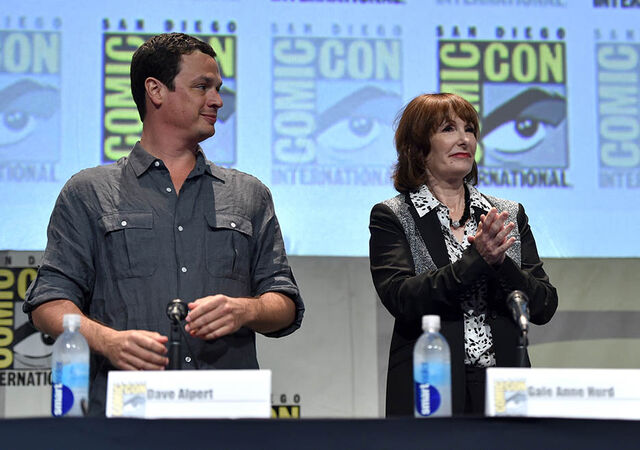 File:David Alpert and Gale Anne Hurd SDCC2015.jpg