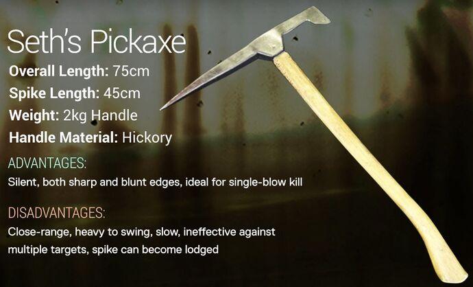 Seth's Pickaxe
