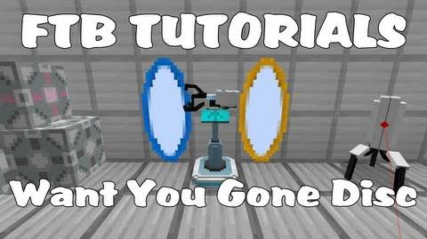 Feed The Beast Tutorials - Want You Gone Music Disc