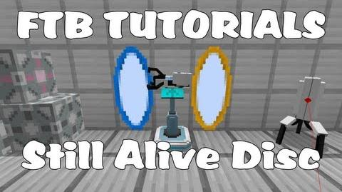 Feed The Beast Tutorials - Still Alive Music Disc