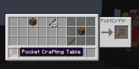 Pocket Crafting Table
