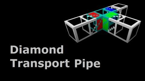 Diamond Transport Pipe