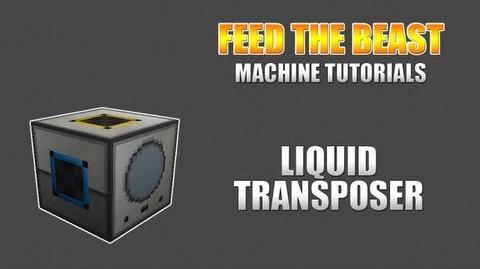 Feed The Beast Machine Tutorials Liquid Transposer