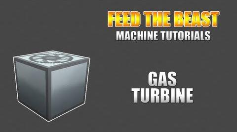 Feed The Beast Machine Tutorials Gas Turbine