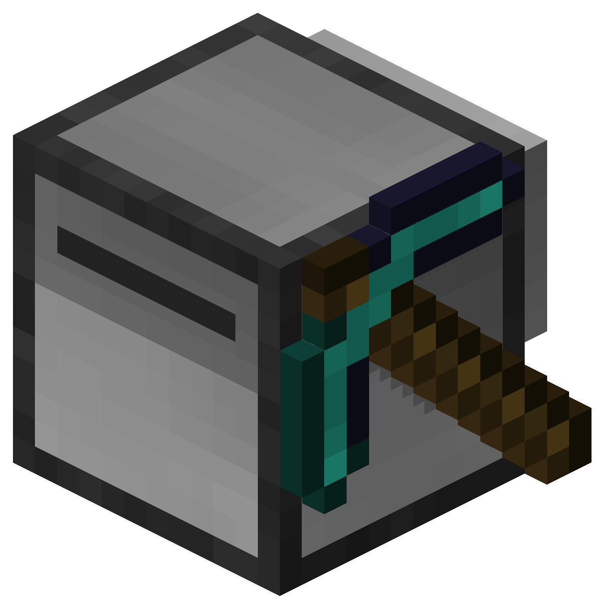 minecraft how to break obsidian without diamond pick