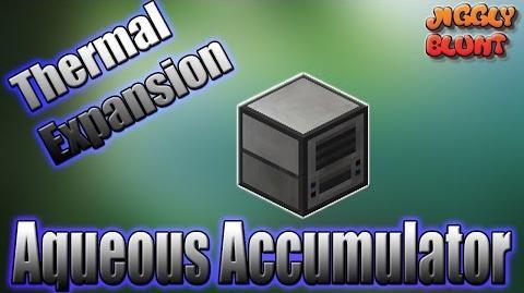 Aqueous Accumulator (Thermal Expansion) - Minecraft Mod Tutorial