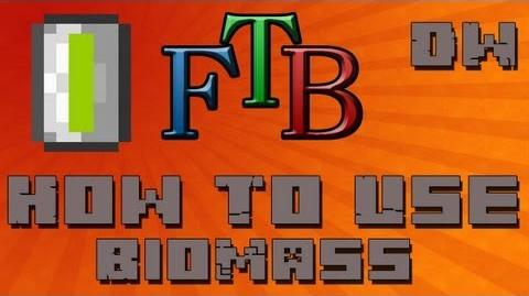 How To Use Biomass BioFuel Feed The Beast Tutorial - Ep