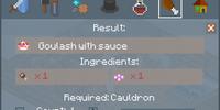 Goulash With Sauce