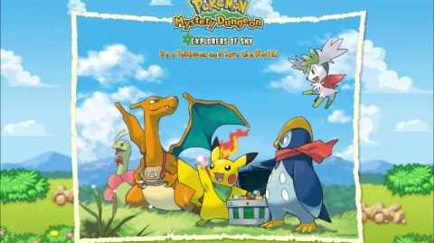 Pokemon- Mystery Dungeon Explorers of Sky- Time Gear- Music