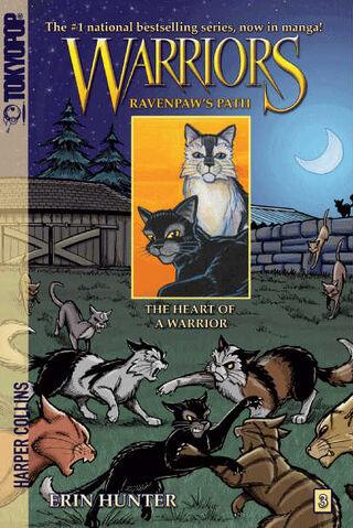 File:Warriors manga-Ravenpaw's Path 3- The Heart of a Warrior.jpg