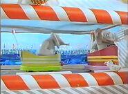 Elephants on Bumper Boats