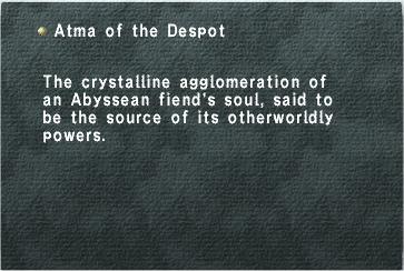 Atma of the Despot