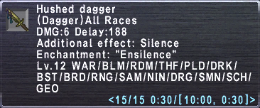Hushed Dagger